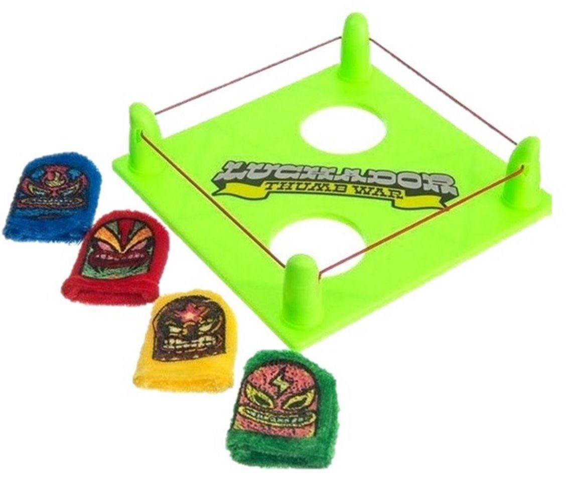 LUCHADOR THUMB WARS MEXICAN WRESTLER NOVELTY GIFT GAME BIRTHDAY PRESENT TOY