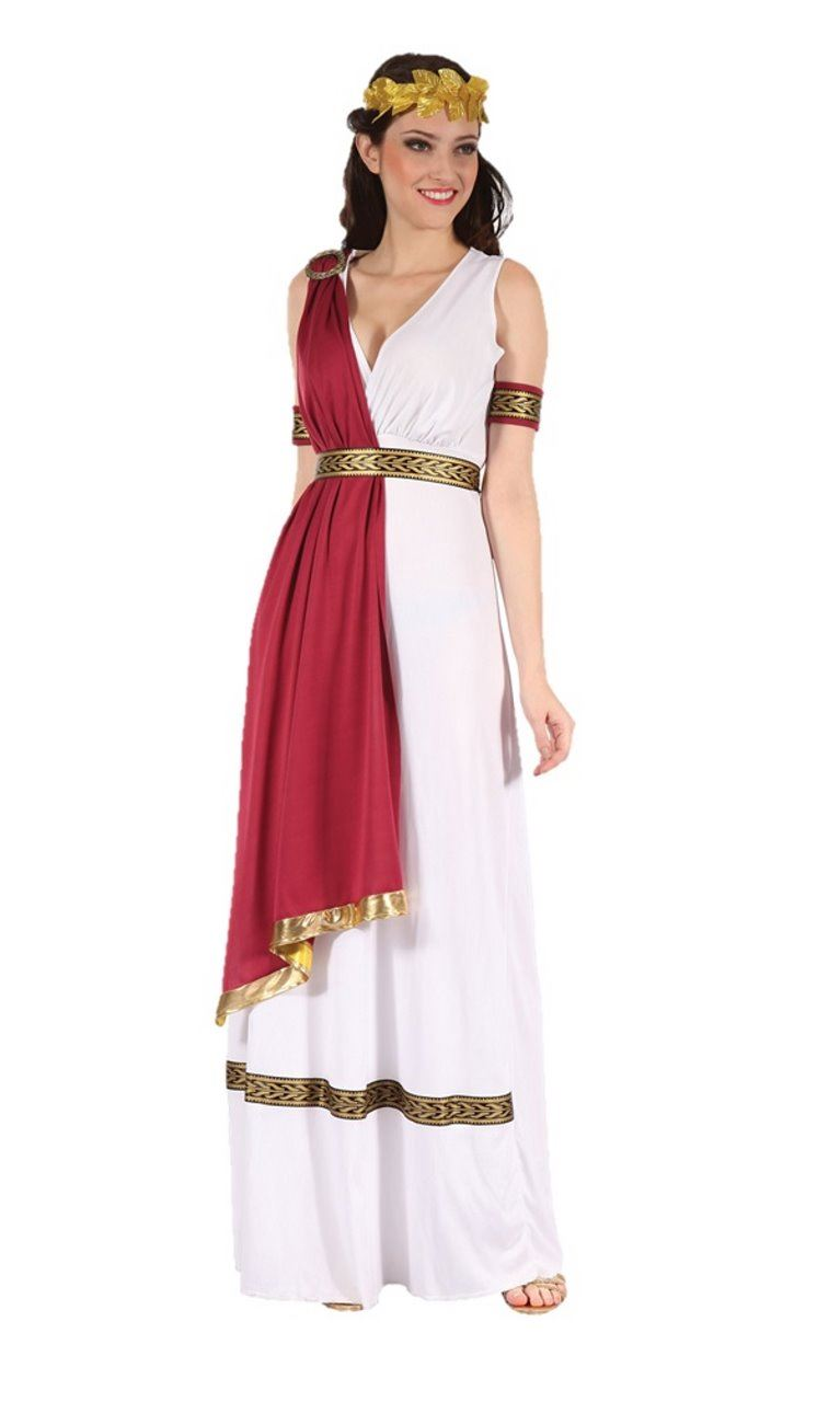 277cafb8f75 Details about Womens Ladies Greek Goddess Fancy Dress Outfit Costume Roman  Egyptian