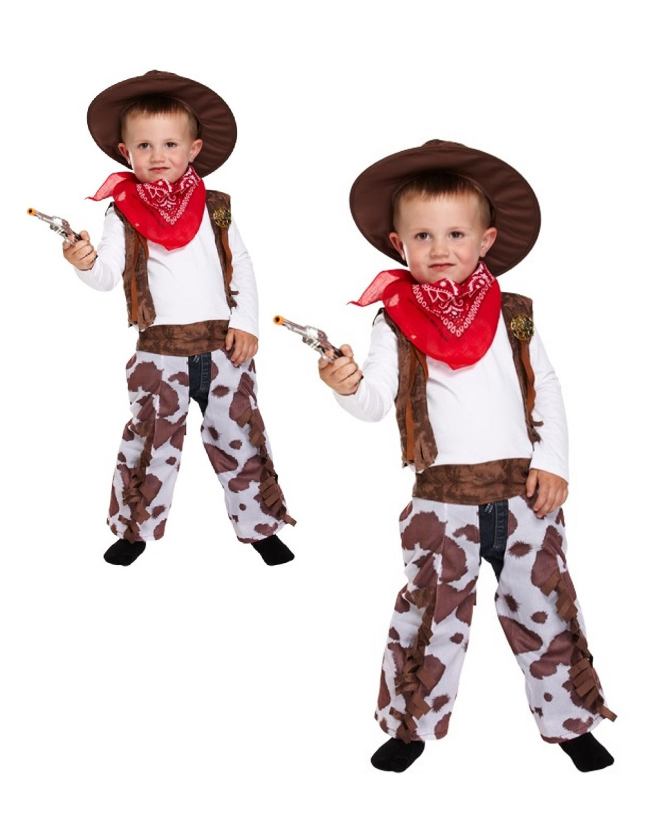Fancy Dress Toddler Cowboy Costume Book Week Boys Outfit