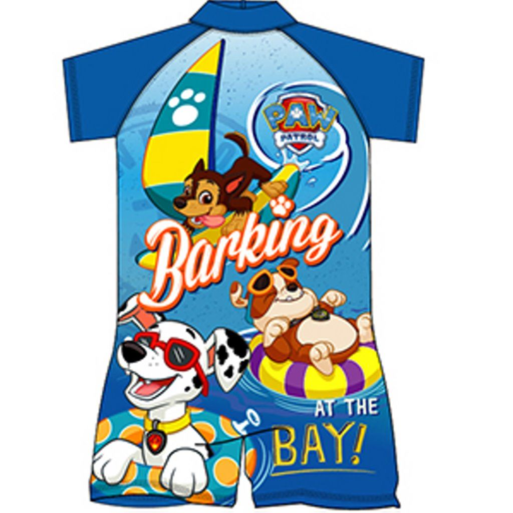 24e5041c98 boys paw patrol surf suit swimwear swimsuit swimming costume childrens age  1-10