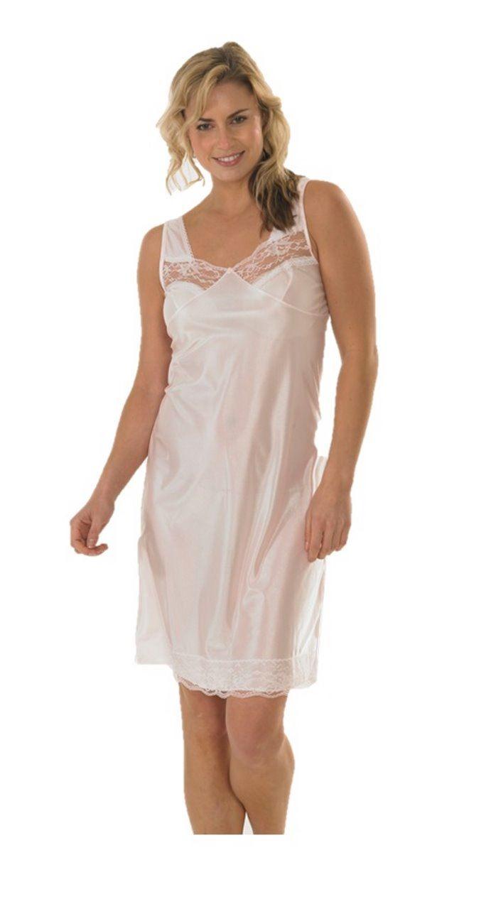 White Ivory Black Slips Petticoat Underskirt Plus size 12//28 Anit satic Garmet