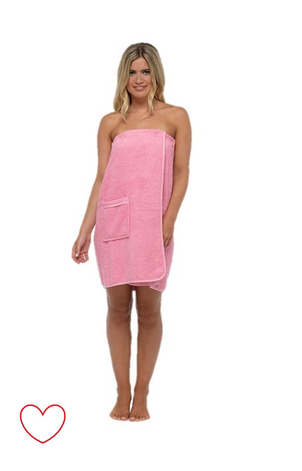 Ladies Womens Towelling Gown Robe Wrap Spa Bath Shower Cotton | eBay