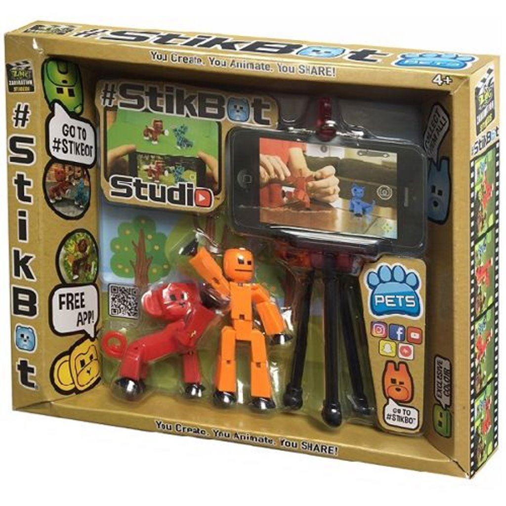 Stikbot Studio Toy Childrens Animation Movie Making App Dinosaur