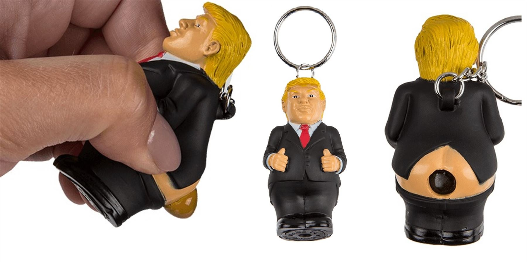 Details about Donald Trump poop keyring president squeeze funny key chain  novelty fun 90e49f873