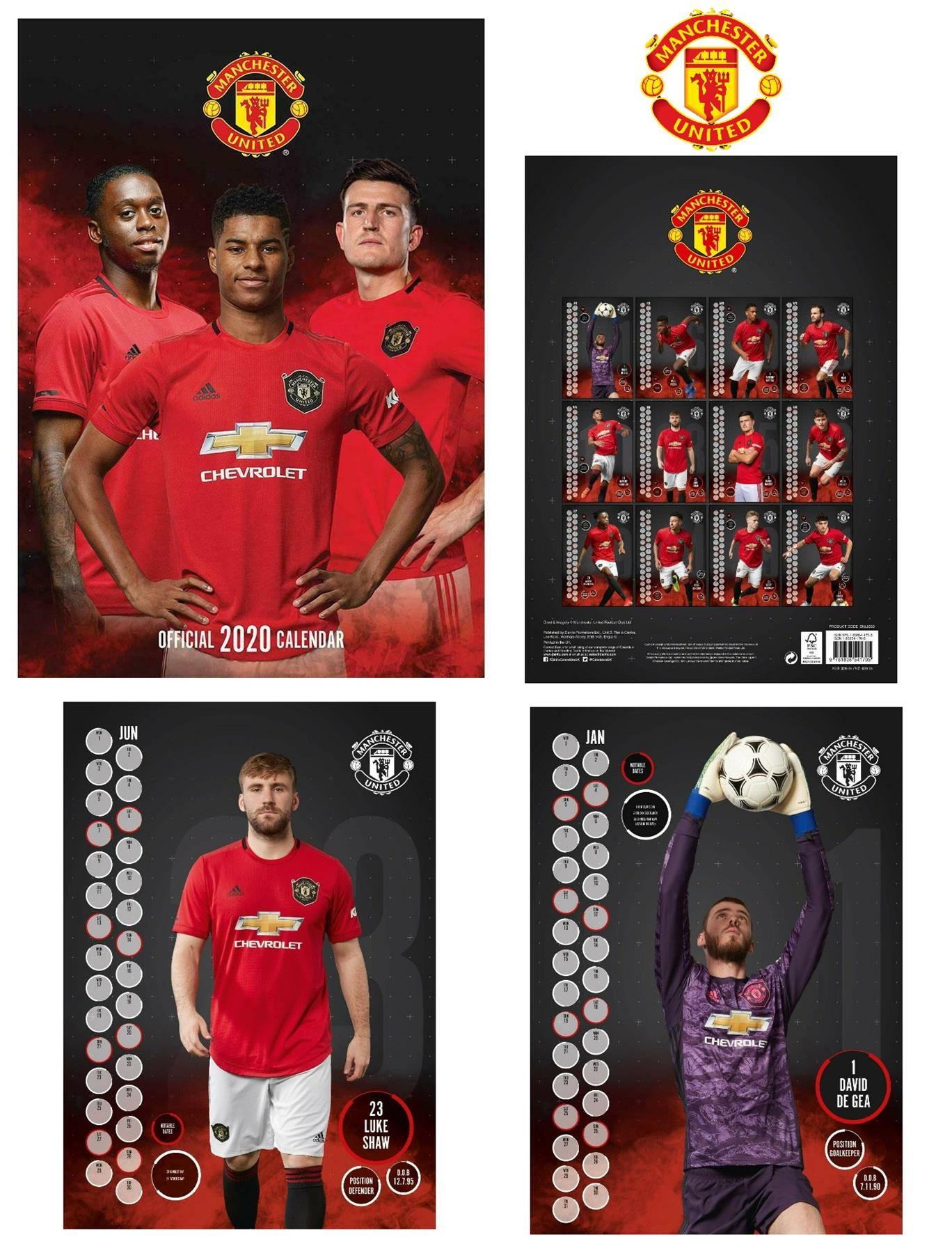 Official A3 Football Soccer Gift Manchester United 2020 ...