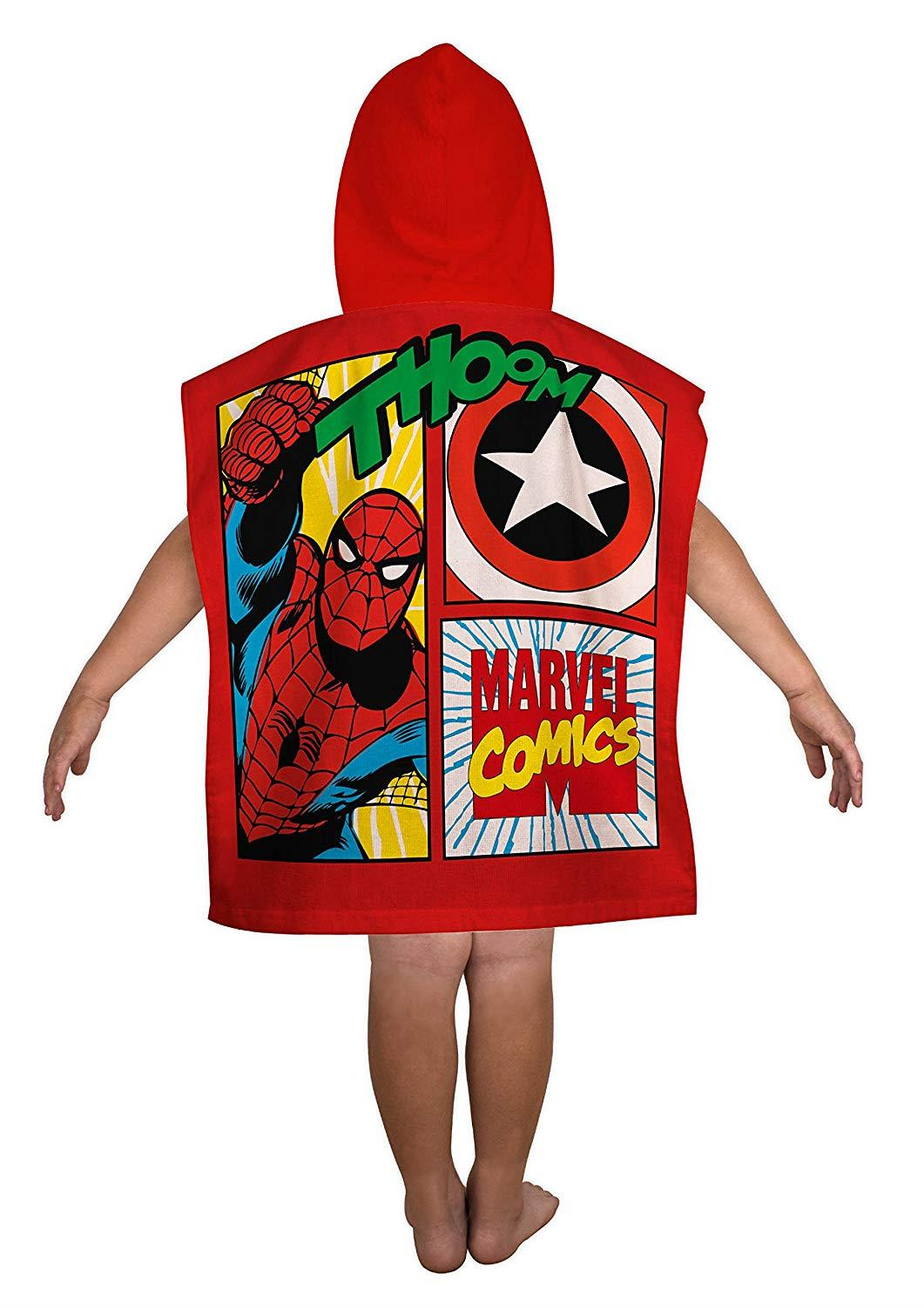 Kids-Boys-Novelty-Girls-Character-Hooded-Towel-Poncho-Beach-Bath-Swim thumbnail 14