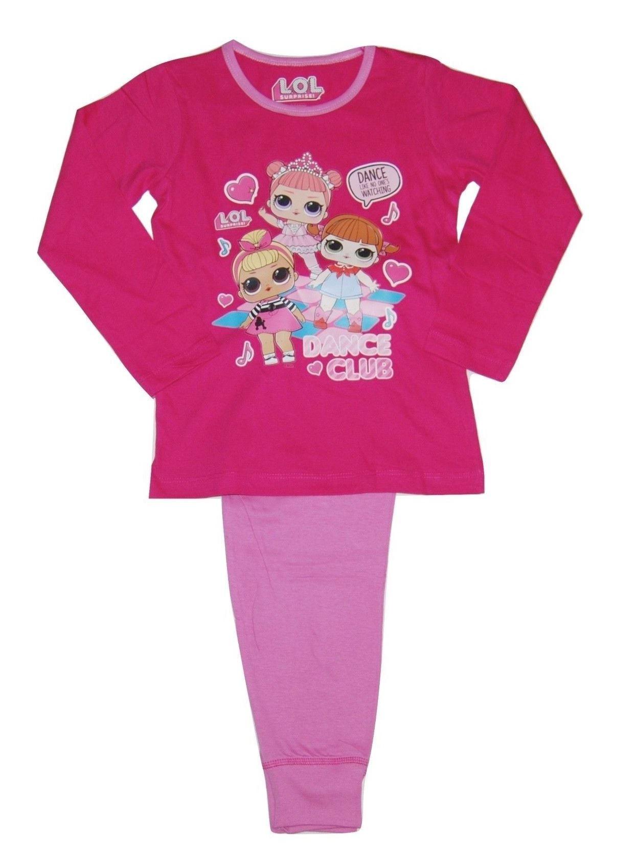 Girls Pyjamas LOL Surprise Nightwear Kids Set Gift