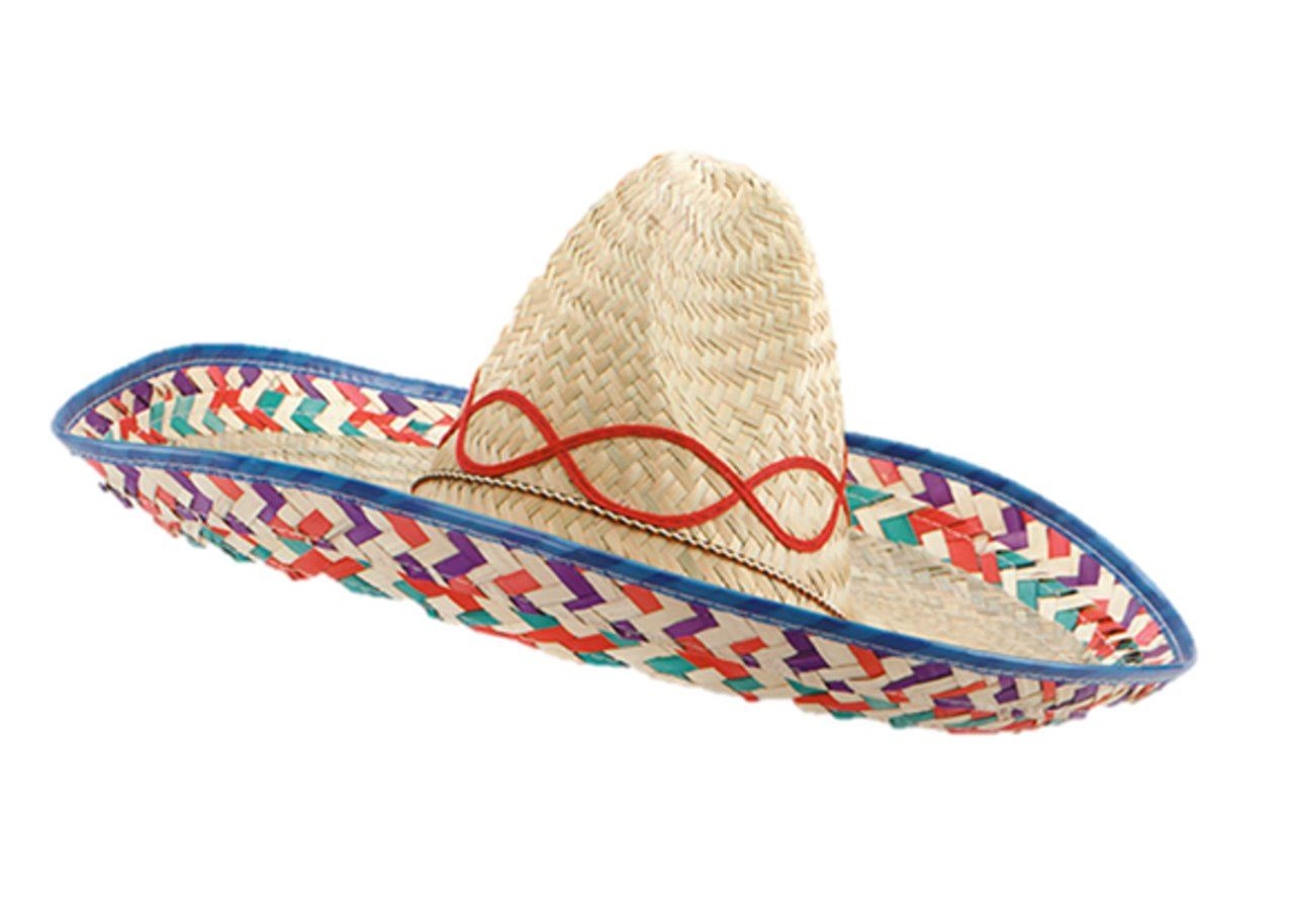 Mexican Sombrero Western Bandit Fancy Dress Straw Hat Costume Accessory  Stag Do 5276097fd002