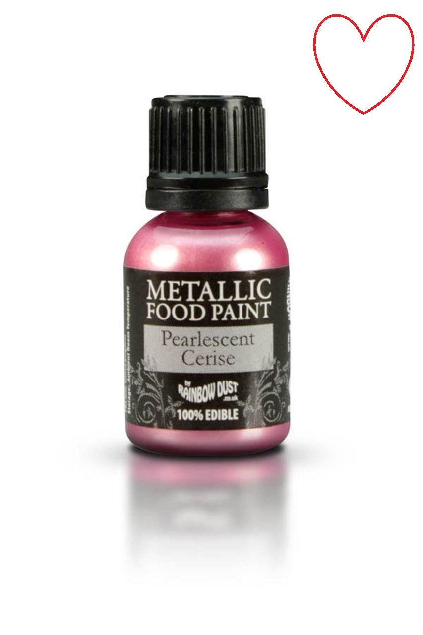 Edible-Food-Paint-Metallic-cake-Decorating-Sugar-Craft miniatuur 50