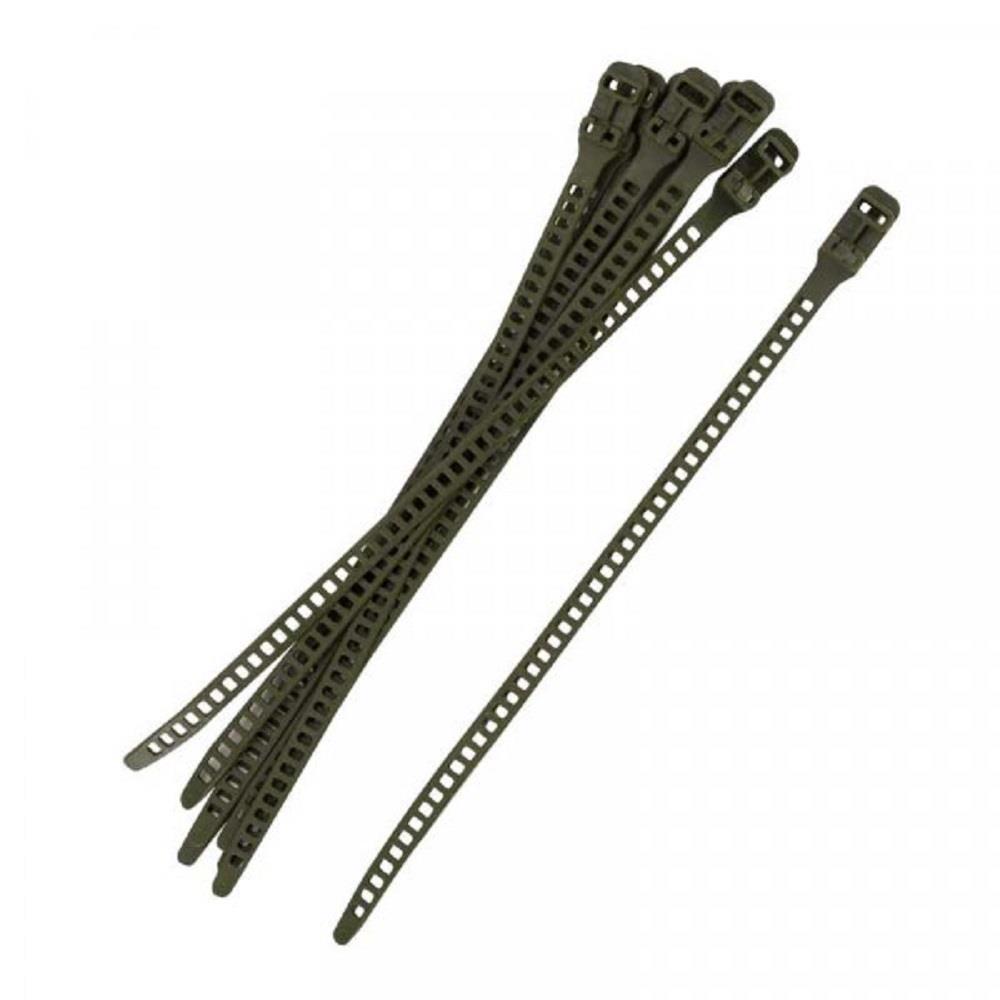Smart Lok Réglable Plastique Ties 6 Pack soutien 35 cm