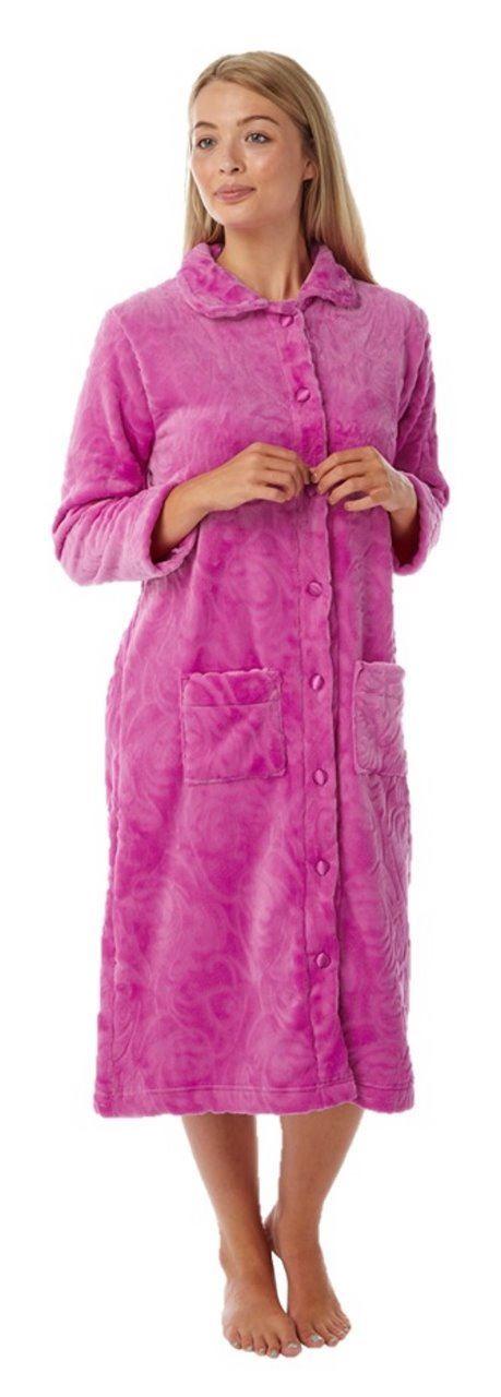 7874cc7569c Ladies dressing gown bath robe plus size 12 14 16 18 20 22 24 26