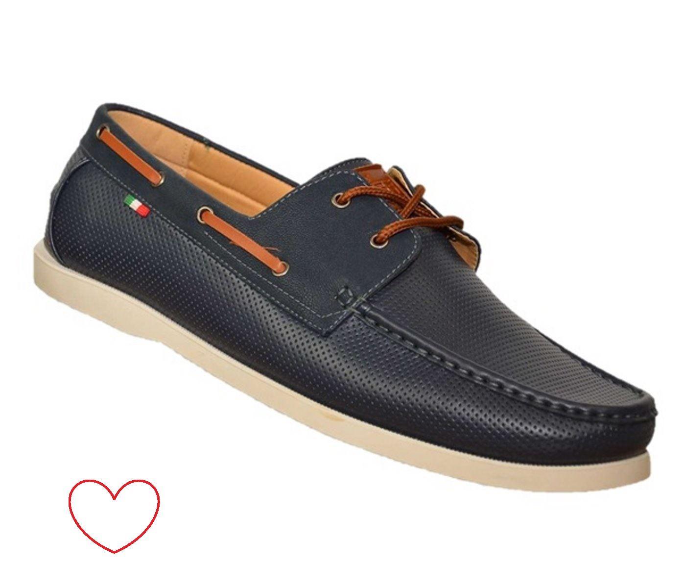 Zapatos-mocasines-nauticos-de-hombre-piel-sintetica-grandes-eleg-informales