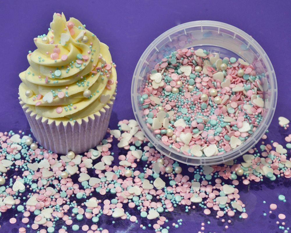 Noël comestibles glimmer arbres sucre cupcake sprinkles gâteau décoration