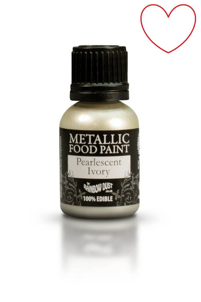 Edible-Food-Paint-Metallic-cake-Decorating-Sugar-Craft miniatuur 54