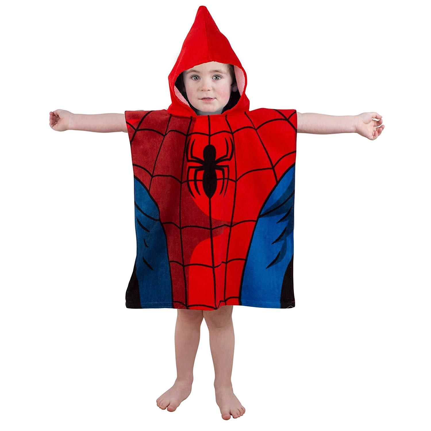 Kids-Boys-Novelty-Girls-Character-Hooded-Towel-Poncho-Beach-Bath-Swim thumbnail 31
