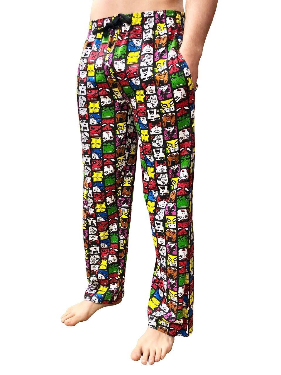 Hombre Nino Comic Pantalon De Descanso Pj Pantalones Pijama Regalo Pijama Ebay