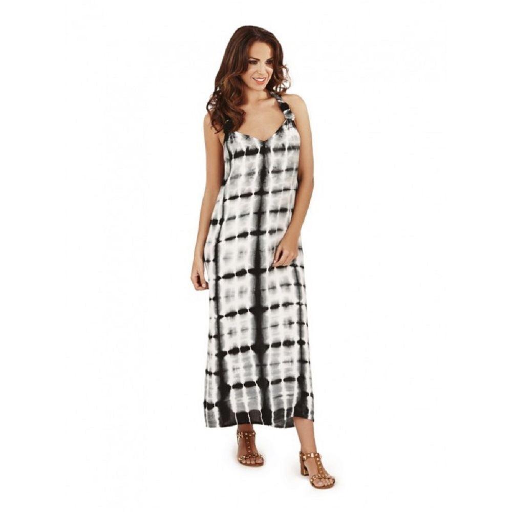 robe longue femme t plage tie dye taille 44 46 48 50 ebay. Black Bedroom Furniture Sets. Home Design Ideas