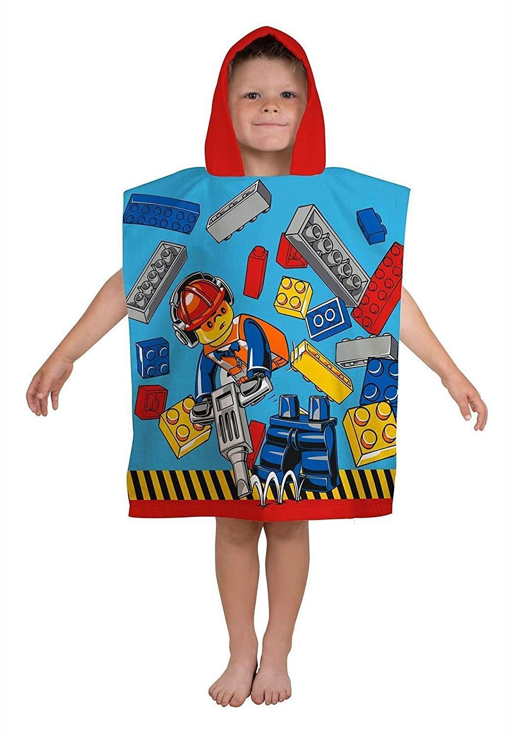Kids-Boys-Novelty-Girls-Character-Hooded-Towel-Poncho-Beach-Bath-Swim thumbnail 7