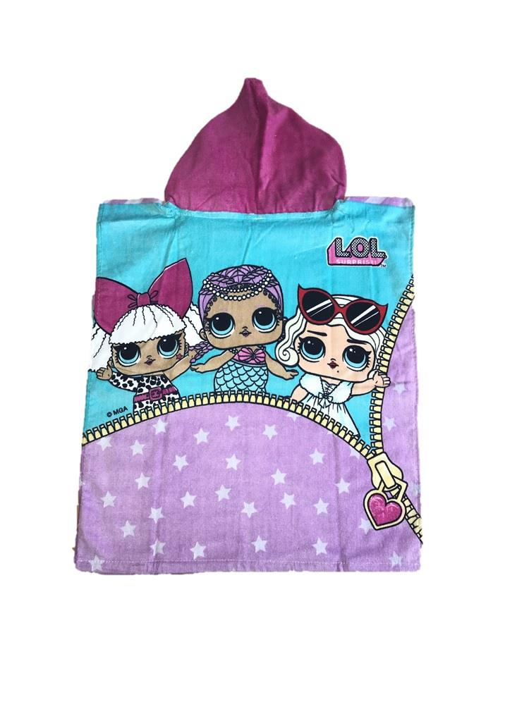 Kids-Boys-Novelty-Girls-Character-Hooded-Towel-Poncho-Beach-Bath-Swim thumbnail 11