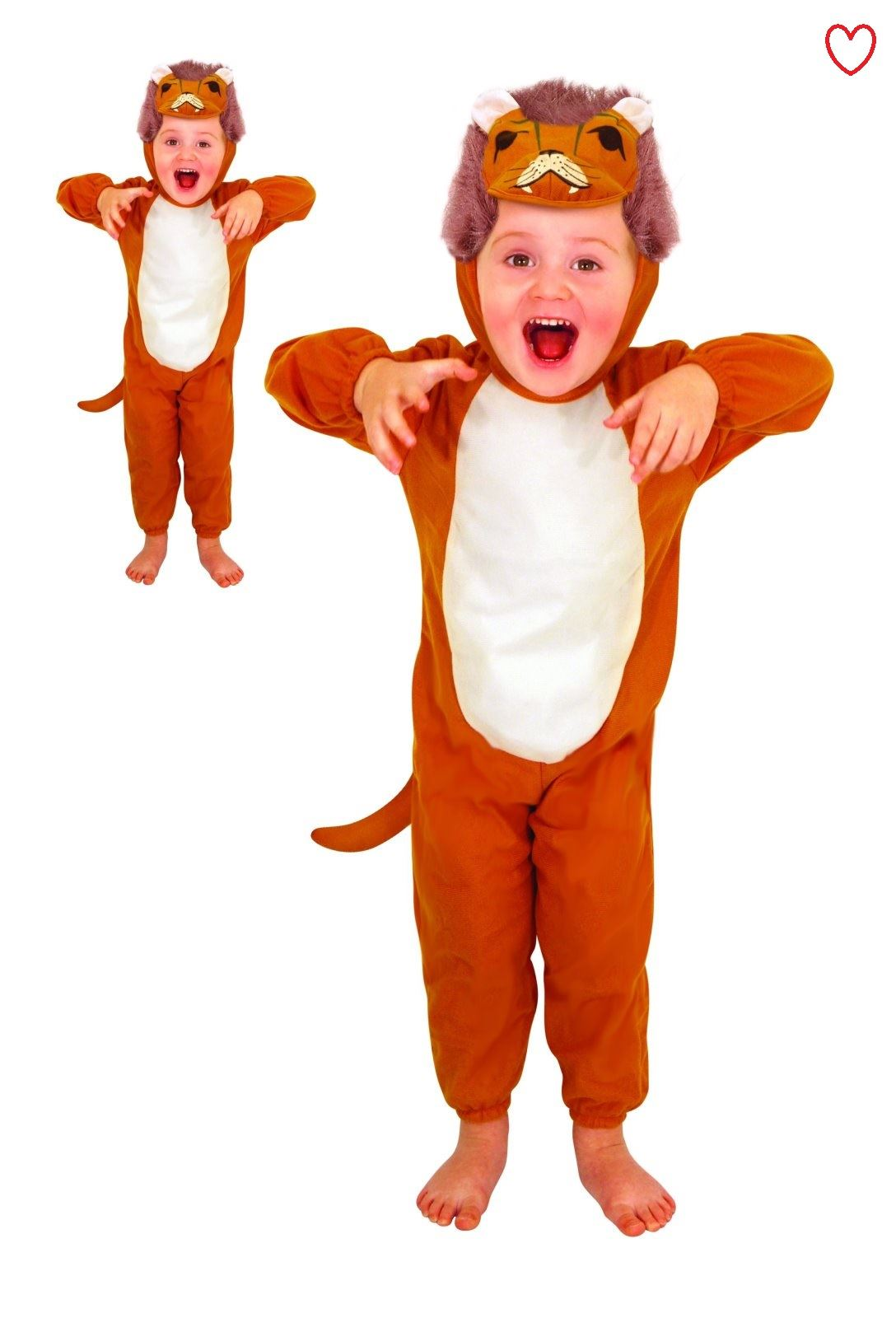 Toddler-Fancy-Dress-Book-Week-Animal-Costume-Outfit-Party