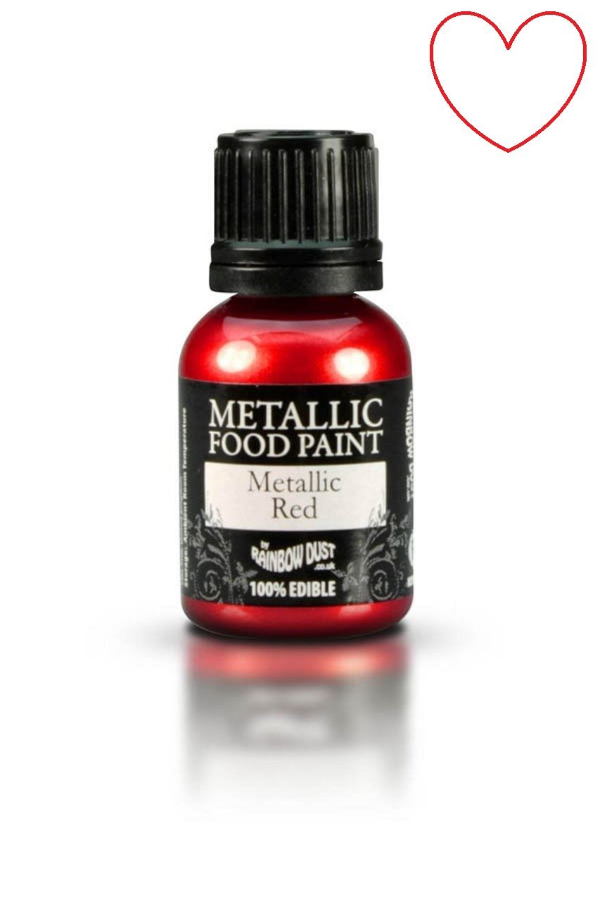 Edible-Food-Paint-Metallic-cake-Decorating-Sugar-Craft miniatuur 24