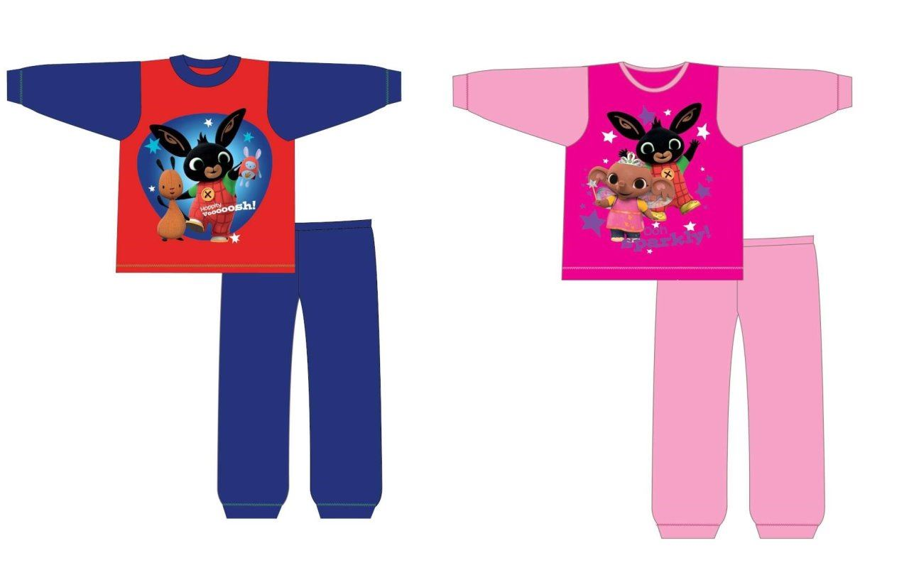 Toddler Boys Girls CBeebies Bing Pjs Pyjamas Pajamas Sleepwear