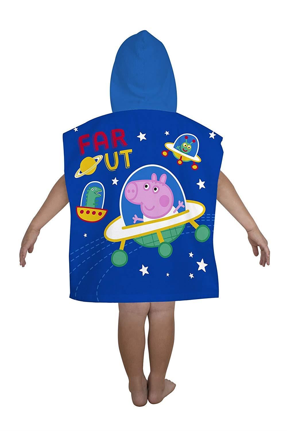 Kids-Boys-Novelty-Girls-Character-Hooded-Towel-Poncho-Beach-Bath-Swim thumbnail 4