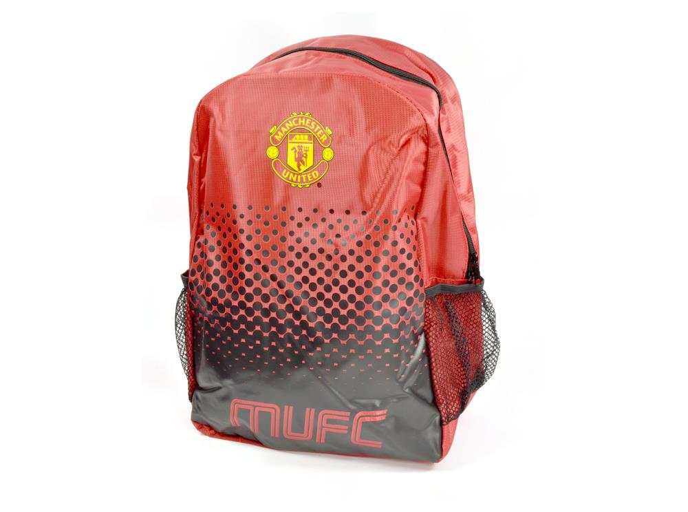 Boys-Official-Man-United-Backpack-Boot-Bag-Sports-MUFC thumbnail 3