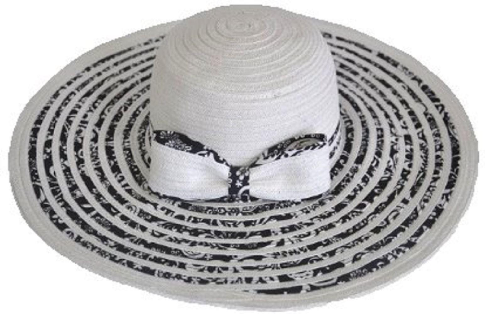 Estate Wide Brim grande cappello di paglia Floppy pieghevole sole spiaggia d5f46fbd9323