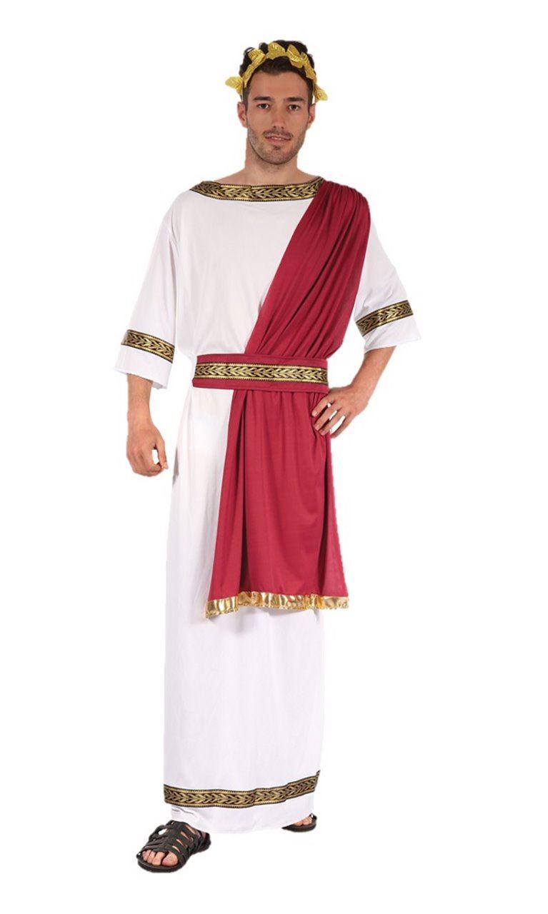 Mens Greek God Roman Egyptian Fancy Dress Outfit Costume