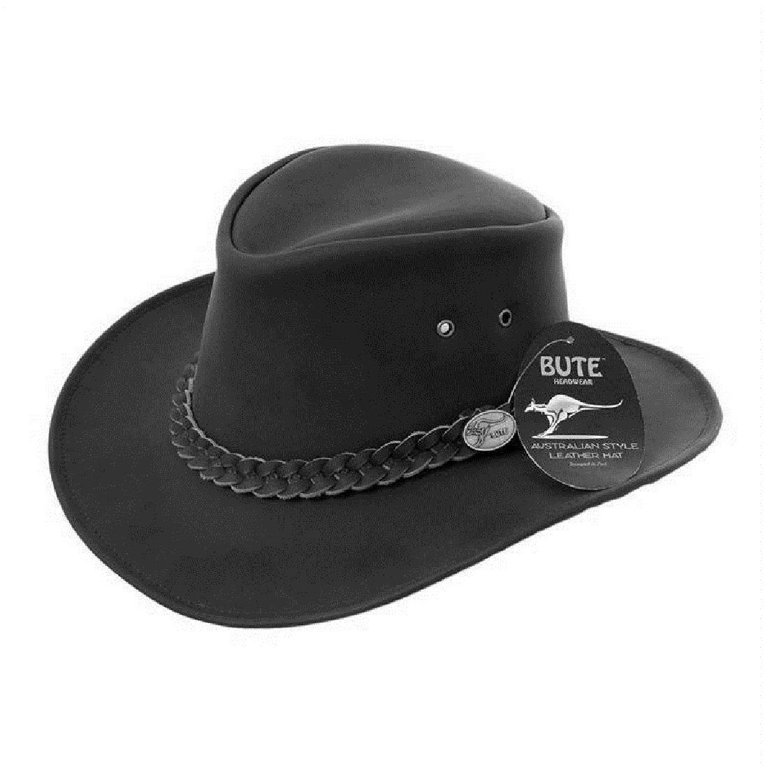 c2692b489170e Cuero Hombre Sombrero Vaquero Australiano Stetson en Caja