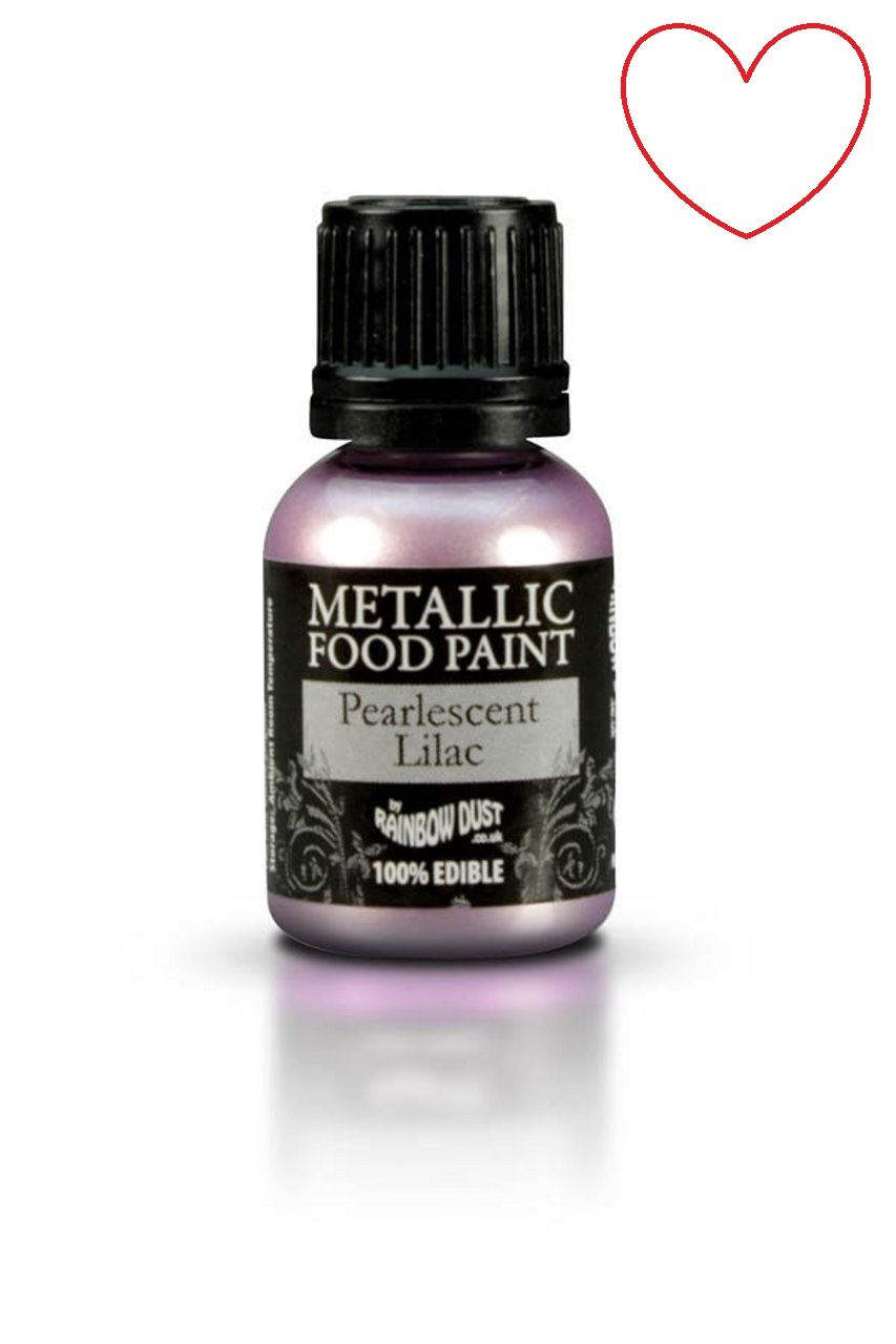 Edible-Food-Paint-Metallic-cake-Decorating-Sugar-Craft miniatuur 59
