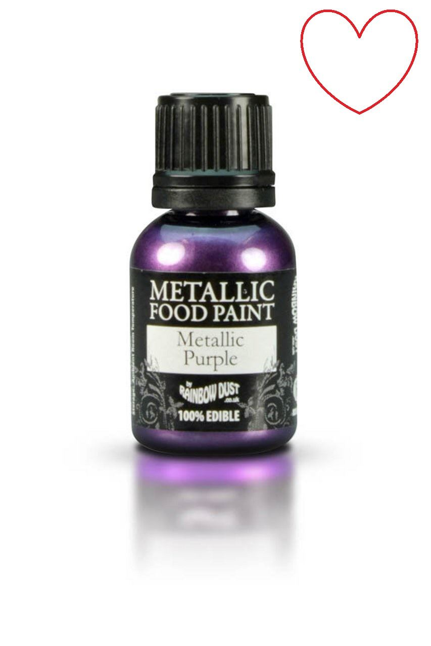 Edible-Food-Paint-Metallic-cake-Decorating-Sugar-Craft miniatuur 78