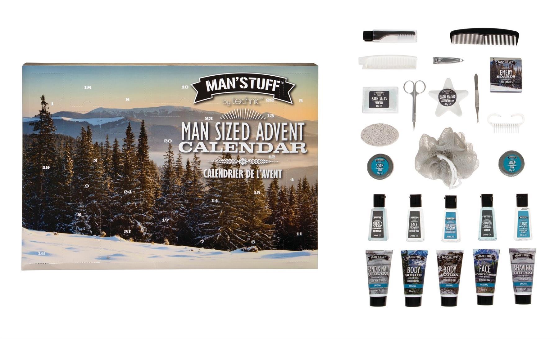 Technic-Men-Stuff-Toiletry-Gift-Sets-Christmas-Advent-Calendar thumbnail 9