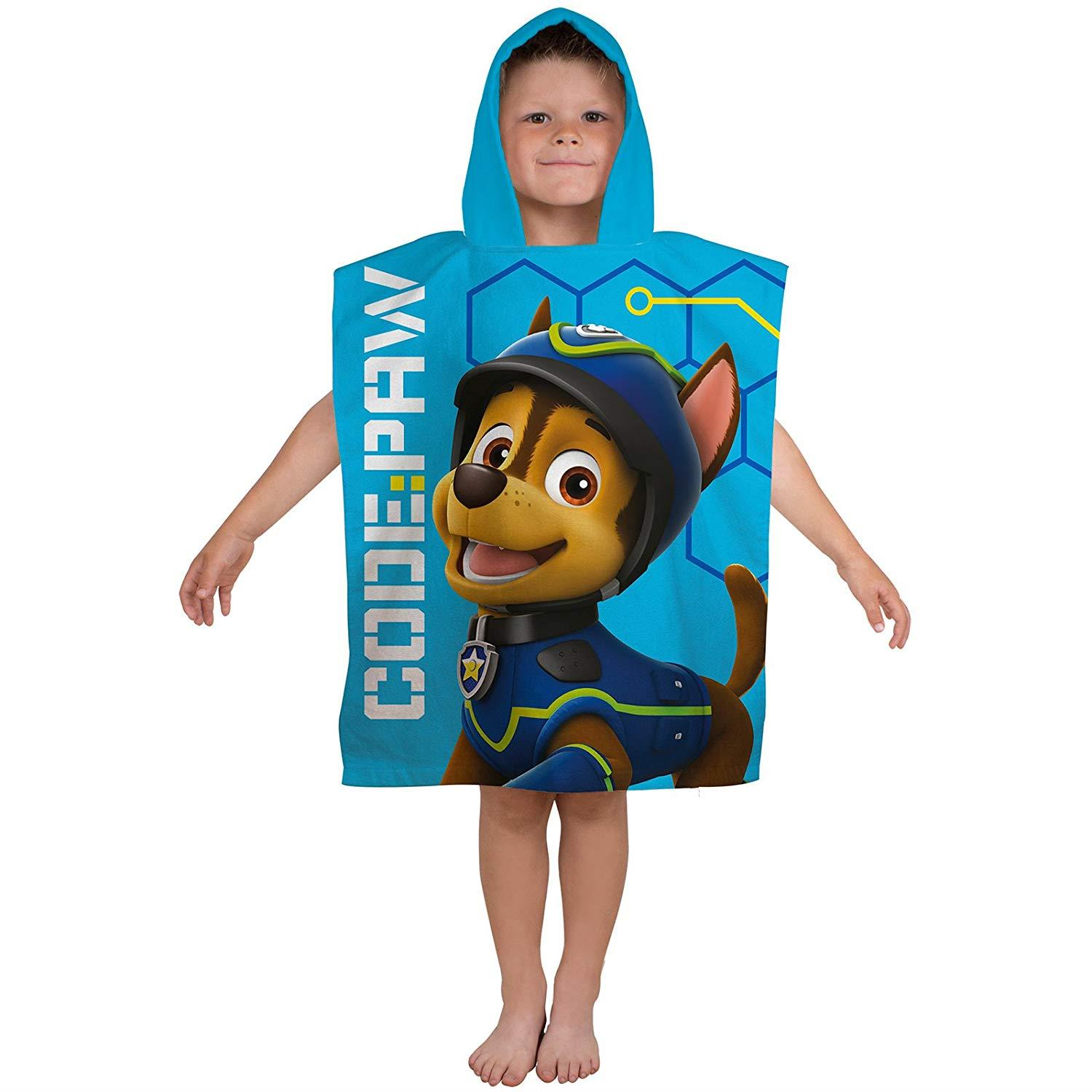 Kids-Boys-Novelty-Girls-Character-Hooded-Towel-Poncho-Beach-Bath-Swim thumbnail 22