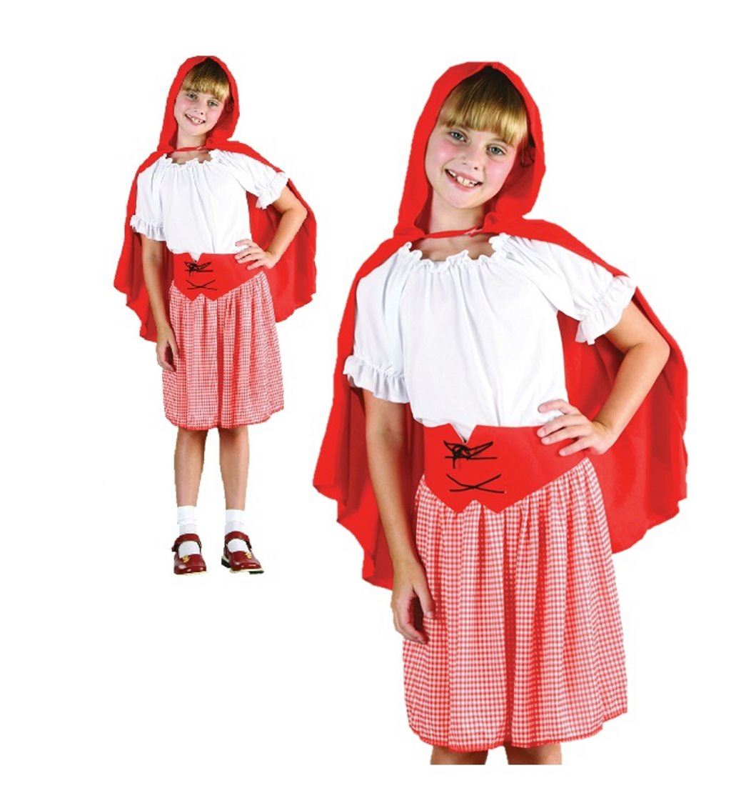 Girls Red Riding Hood Goldilocks Costume World Book Day Book Week Fancy Dress