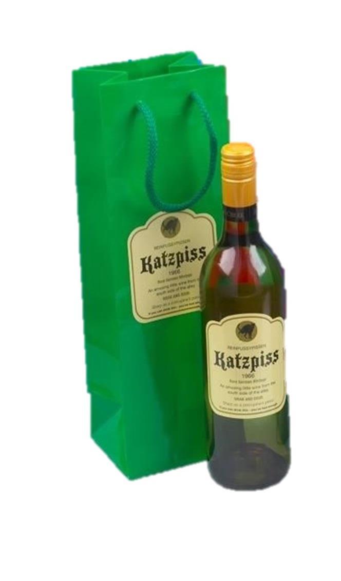 Bolsa-para-botella-de-vino-Novedad-Etiqueta-Divertido-Broma-Navidad miniatura 11
