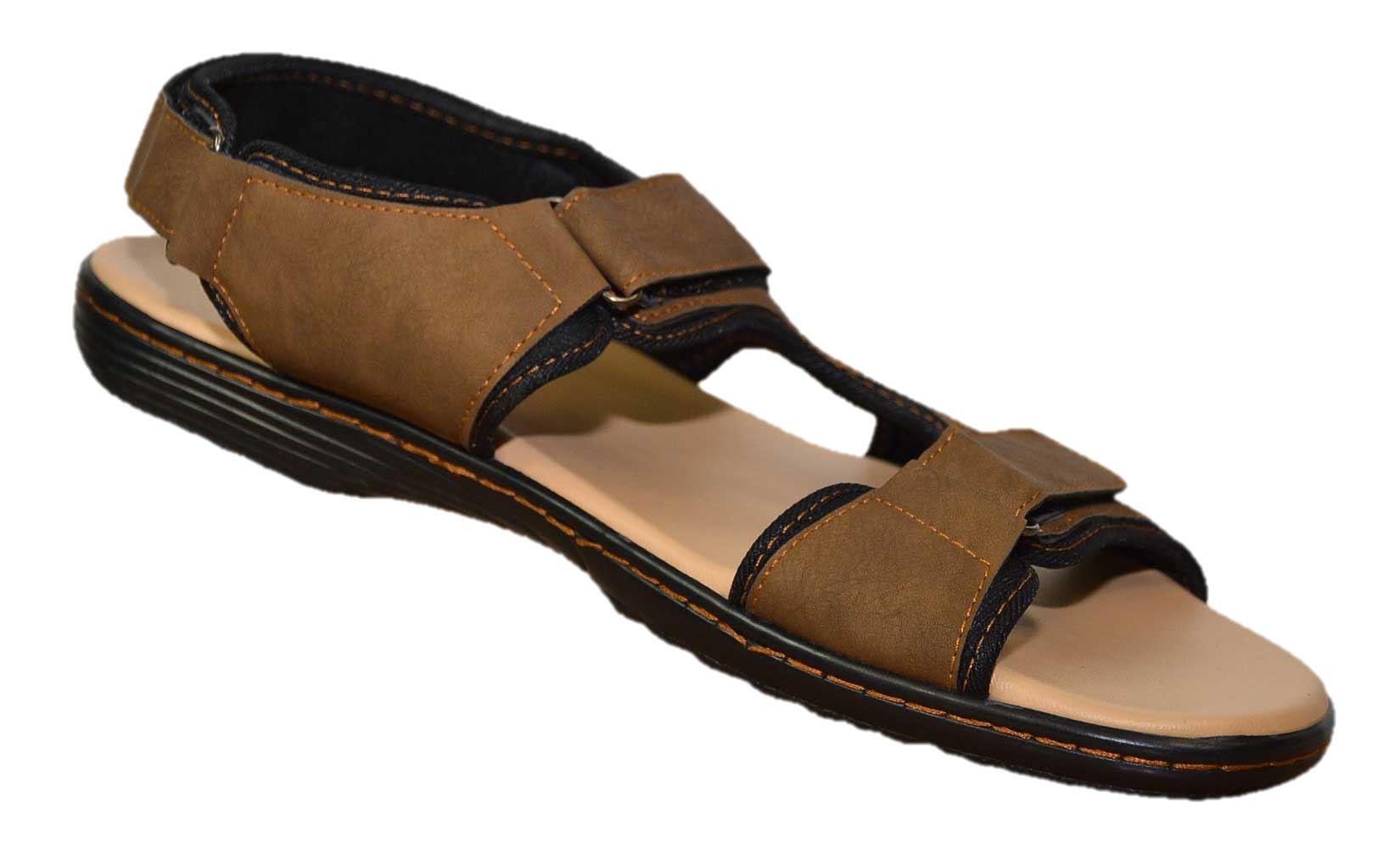 952b16103be1 Mens Sandals Big Foot Adjustable Wide Fit Size 12 13 14 15 Summer ...