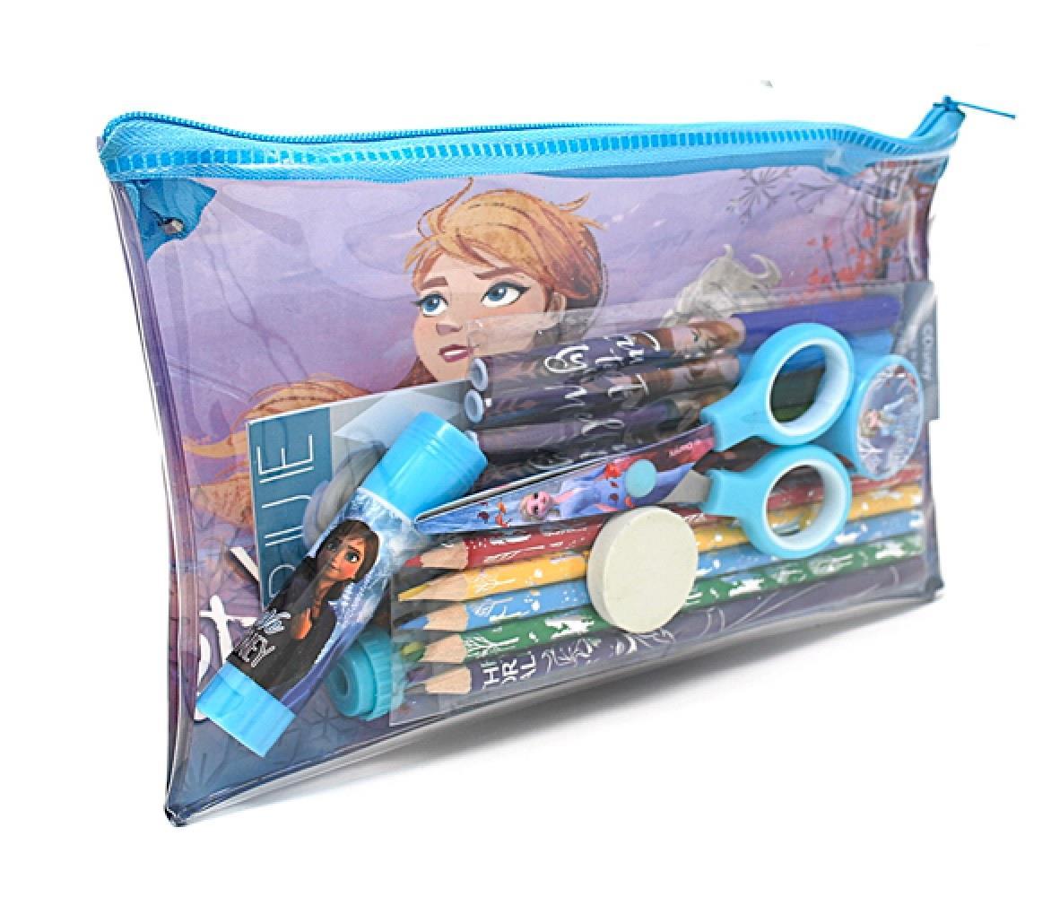 thumbnail 10 - Disney Frozen 2 Elsa Stationary Gift Set Case Chest Pencil Case Stocking Filler