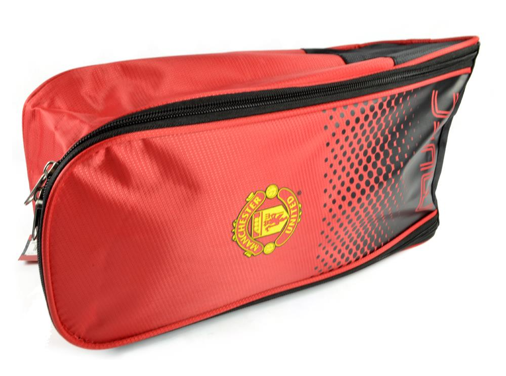 Boys-Official-Man-United-Backpack-Boot-Bag-Sports-MUFC thumbnail 5