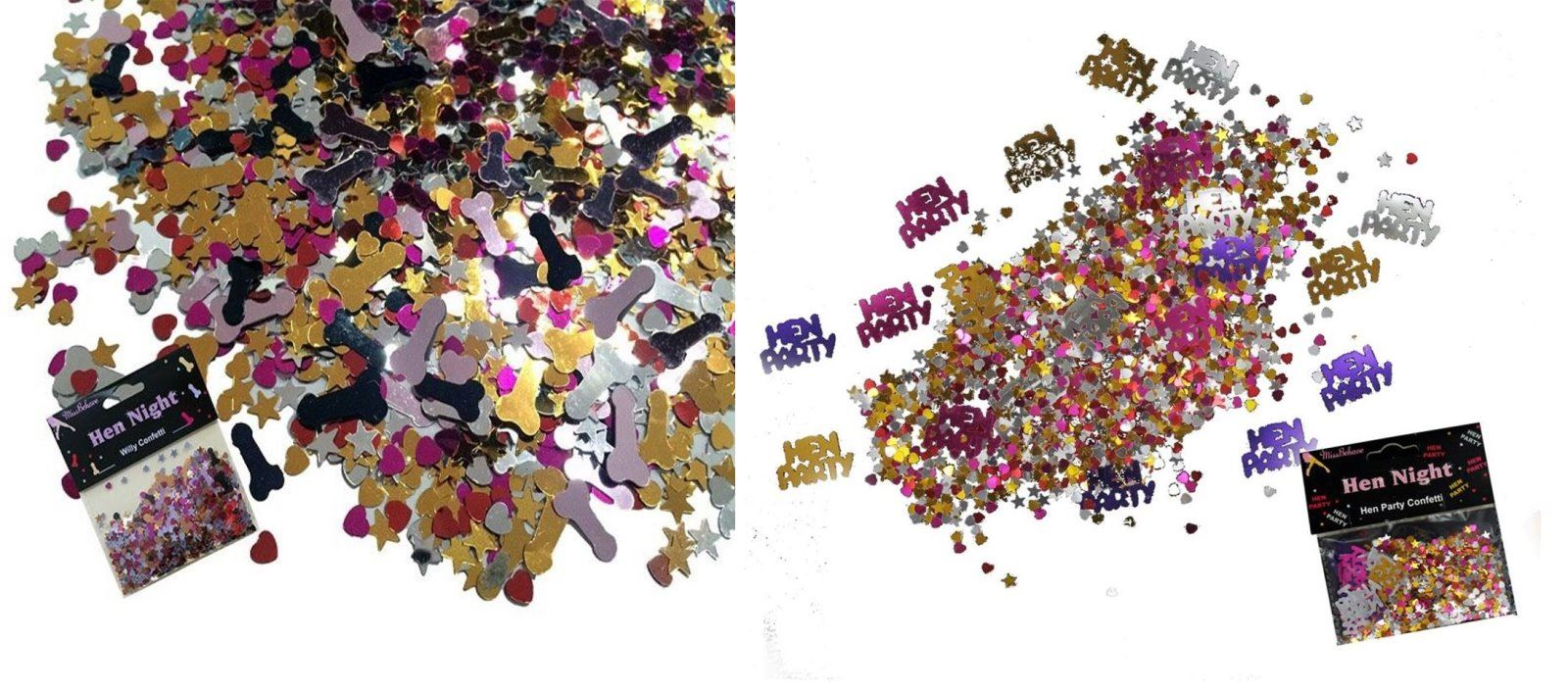 Hen Night Party Table Confetti Sprinkles NEW 15g