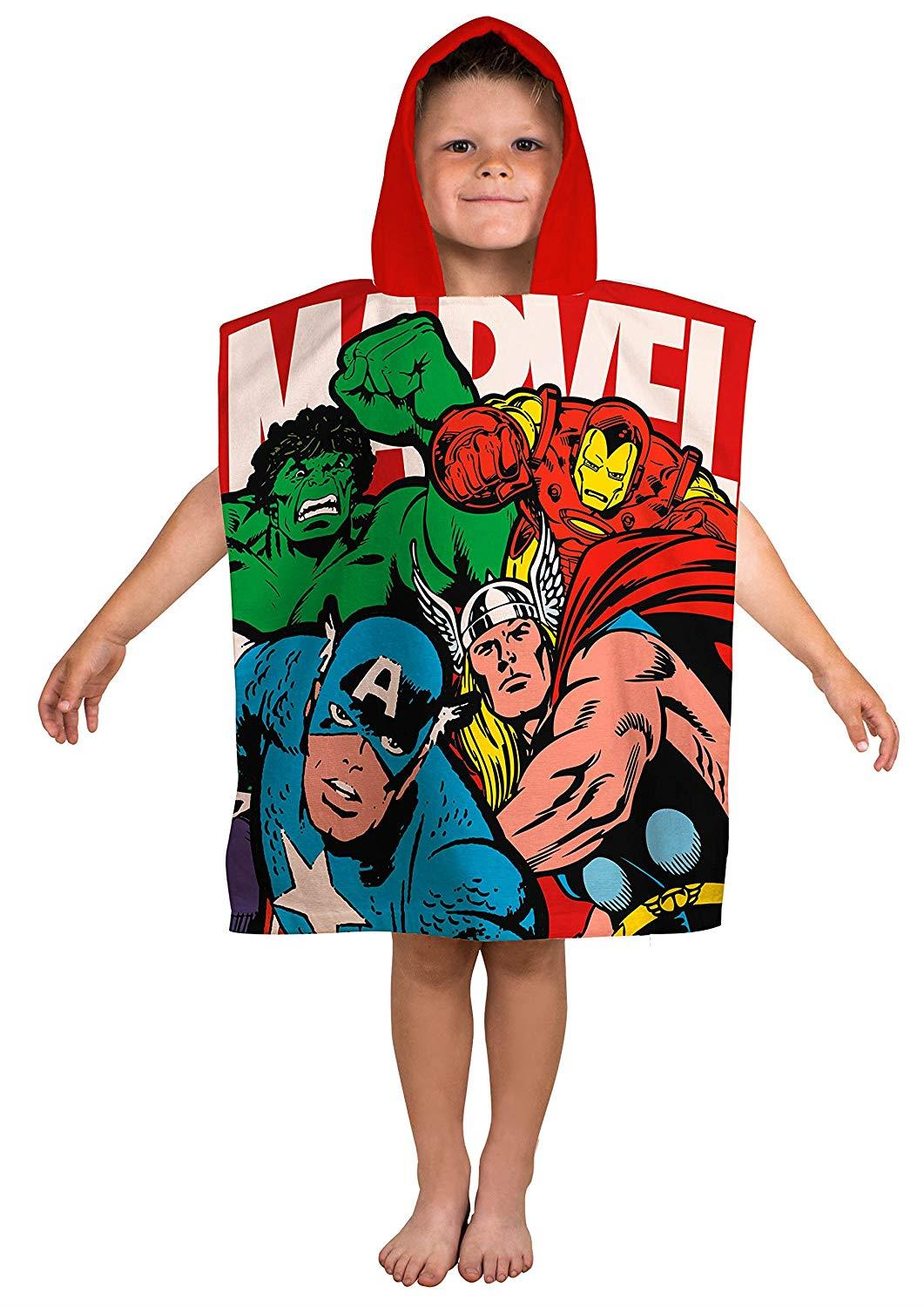 Kids-Boys-Novelty-Girls-Character-Hooded-Towel-Poncho-Beach-Bath-Swim thumbnail 13