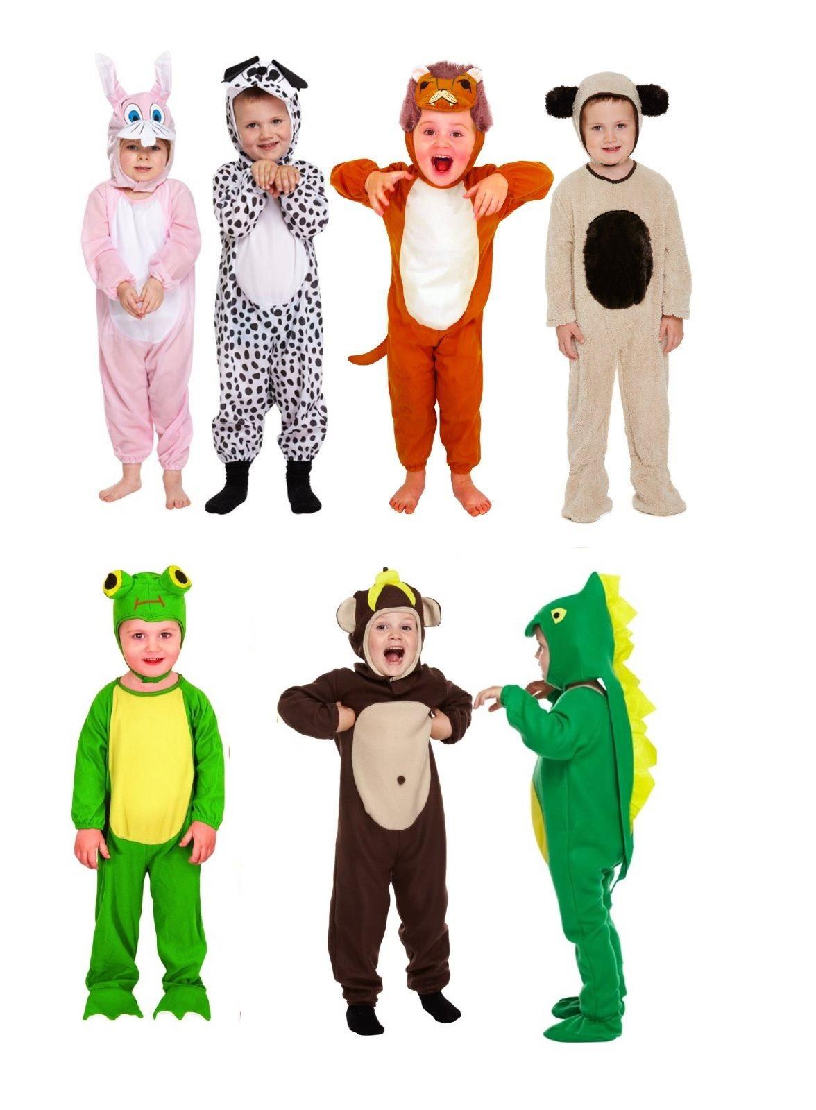 childrens dinosaur costume fancy dress animal playsuit book week toddler age 2 3