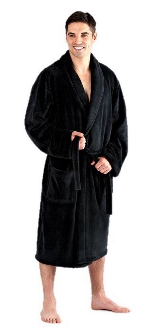 mens dressing gown bathrobe fleece large 3xl 4xl 5xl 6xl 7xl 8xl   eBay