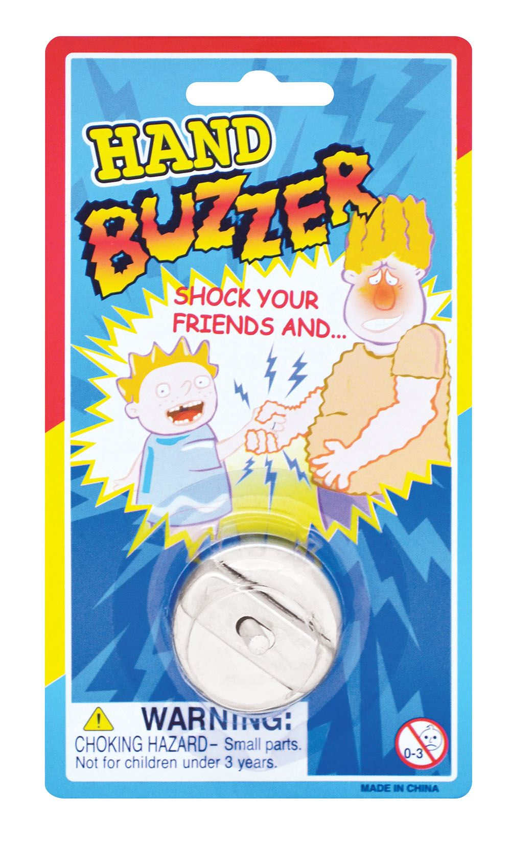 Hand Buzzer Shock Novelty Trick Party Prank Funny Laugh Practical Jokes