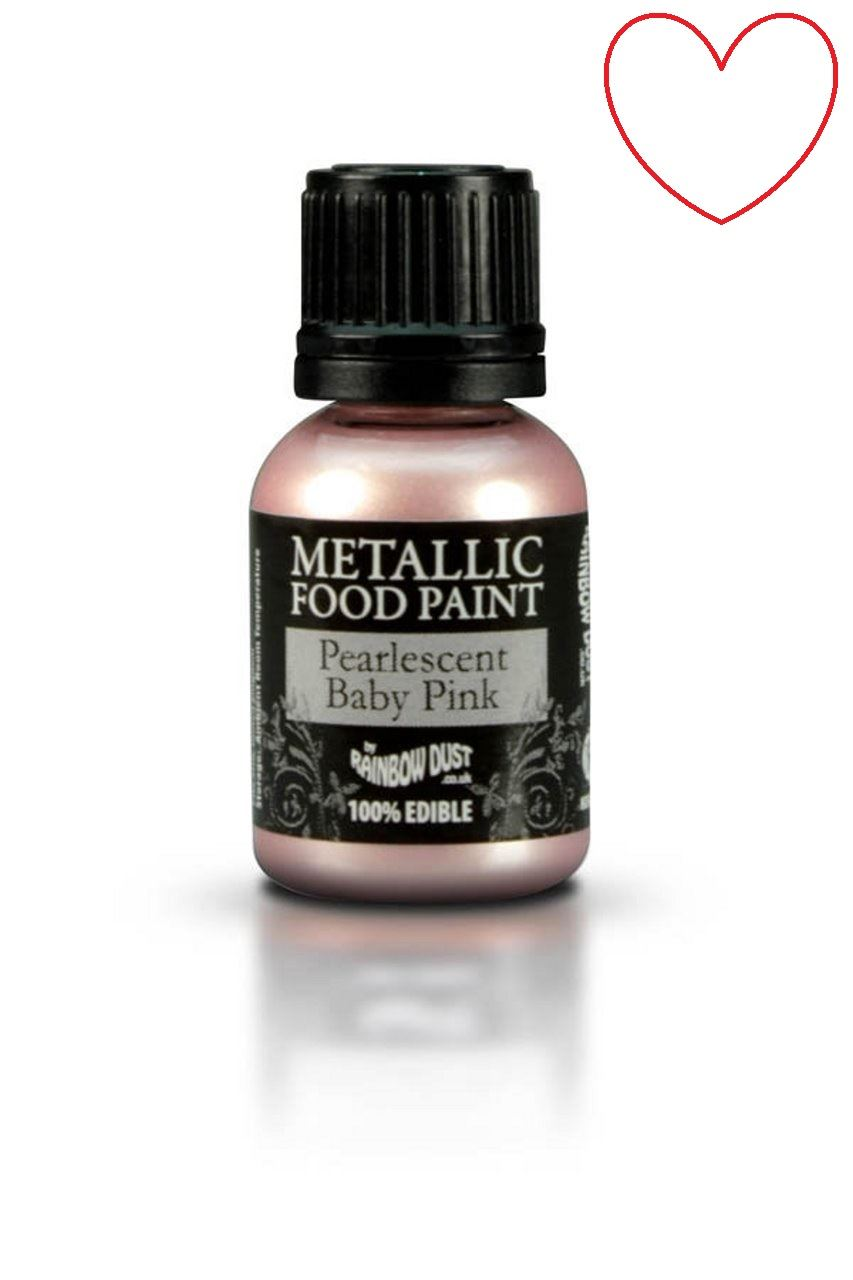 Edible-Food-Paint-Metallic-cake-Decorating-Sugar-Craft miniatuur 48
