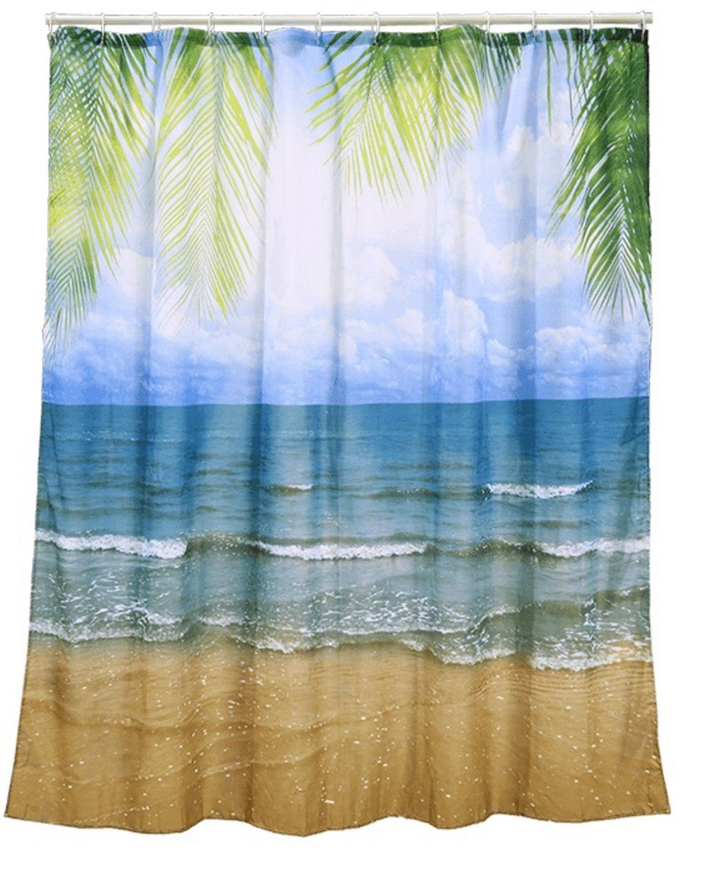 Details About Shower Curtain Bathroom Hooks Bath Novelty Gift