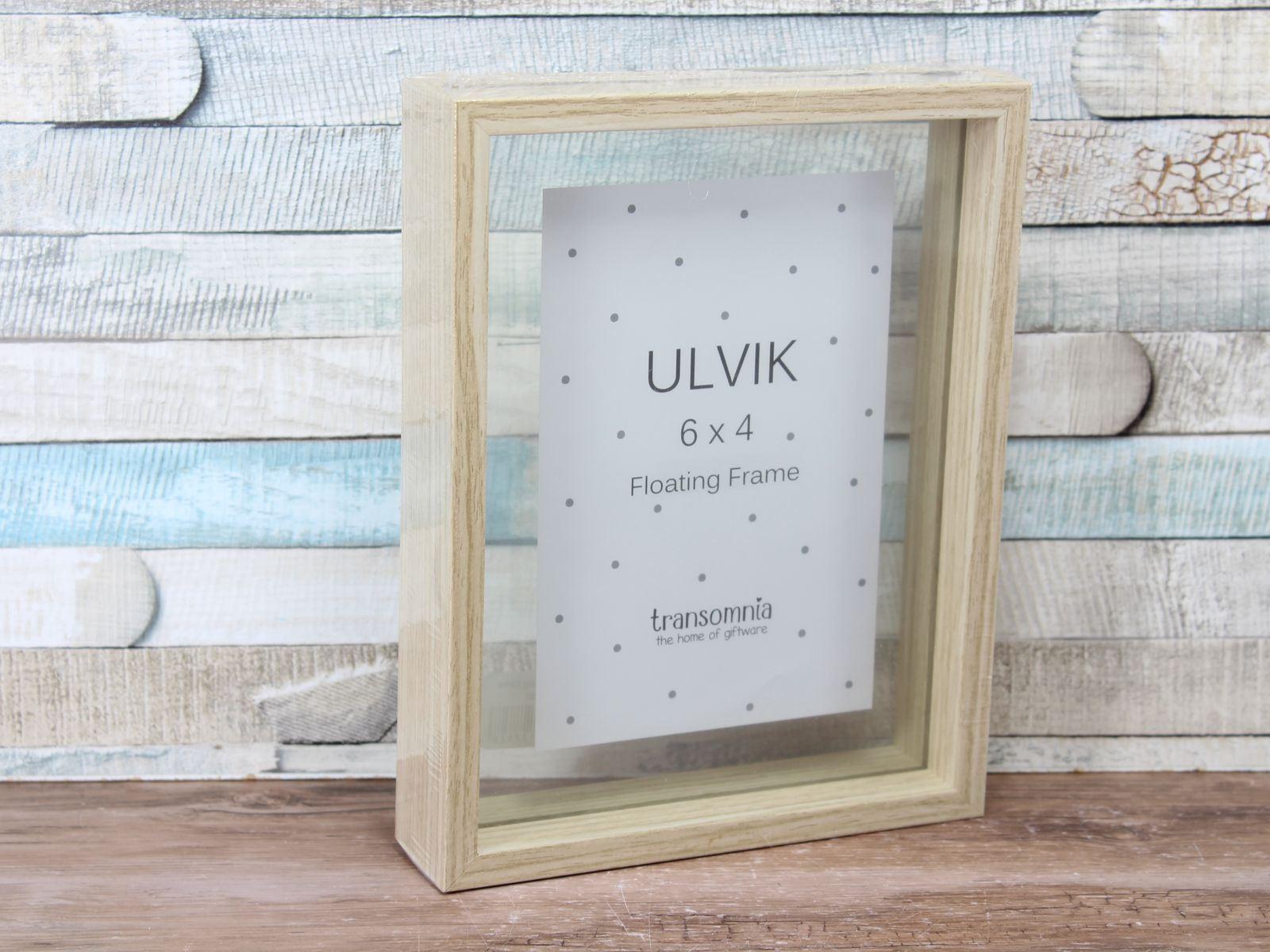 Ulvik Wooden Glass Floating Frame 6x4\