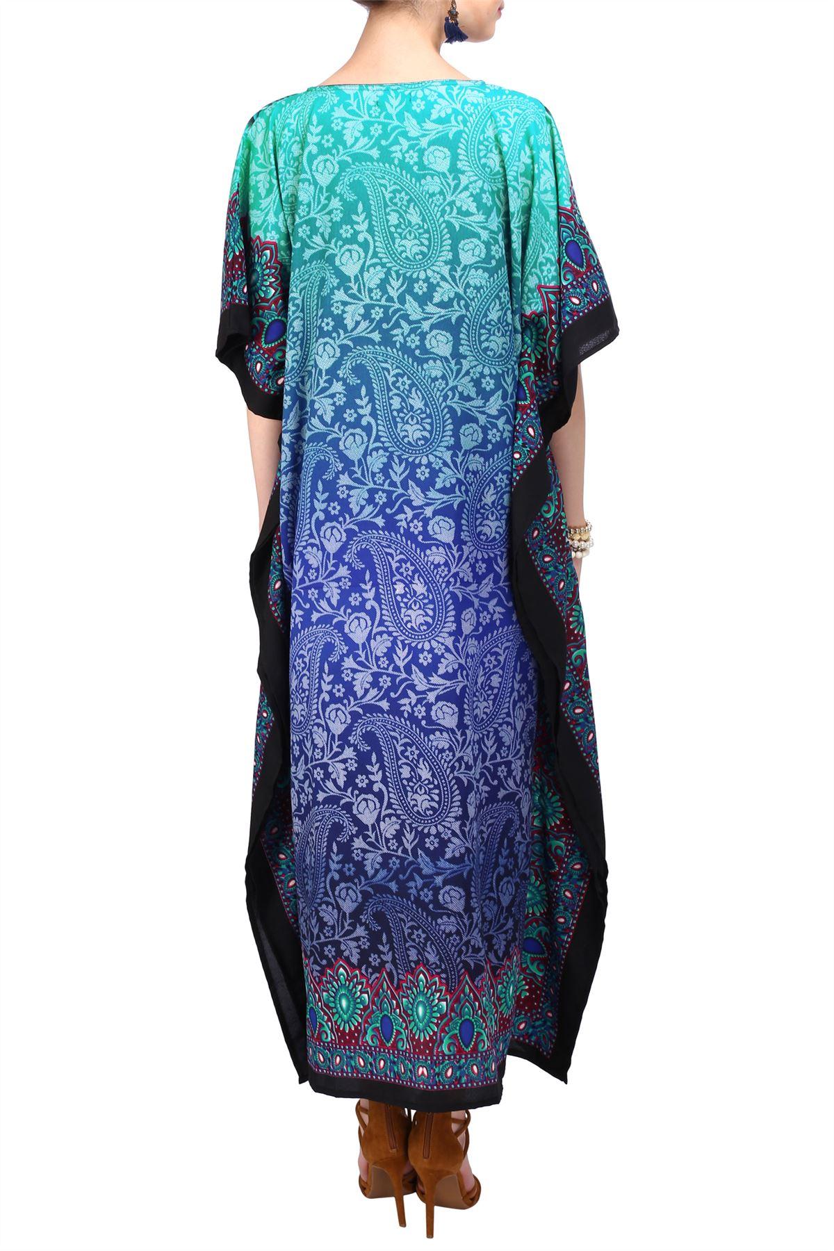 Women-Kaftan-Tunic-Kimono-Free-Size-Long-Maxi-Party-Dress-for-Loungewear