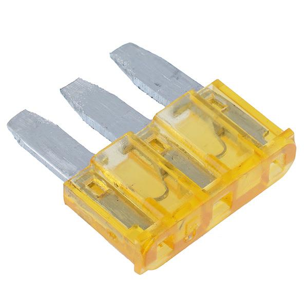 10 x 15A Micro3 Blade Fuse Auto Automotive Car Van Bike